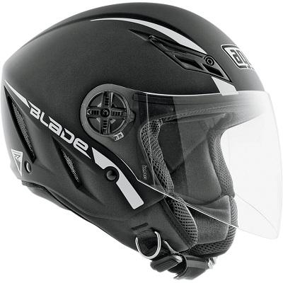 CAPACETE AGV BLADE MONOCOLOR PRETO FOSCO  - Motosports
