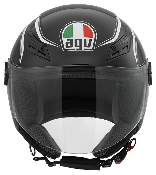 Capacete AGV BLADE TAB PRETO BLACK  - Motosports