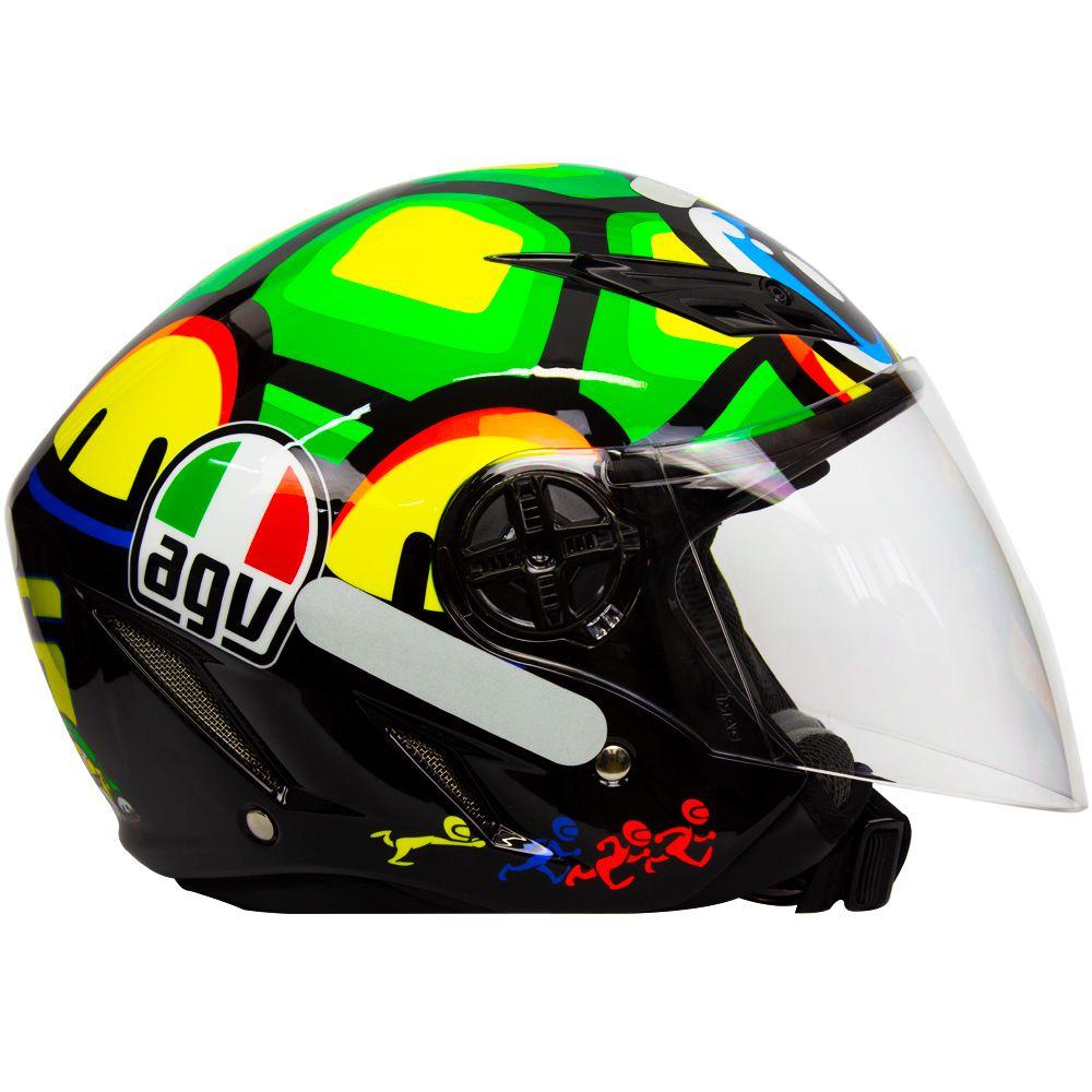 Capacete AGV Blade Tartaruga Valentino Rossi  - Motosports