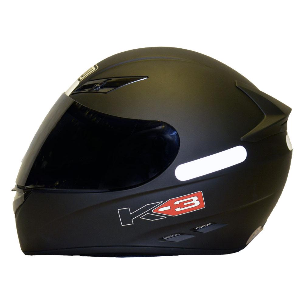 CAPACETE AGV K3 PRETO FOSCO  - Motosports