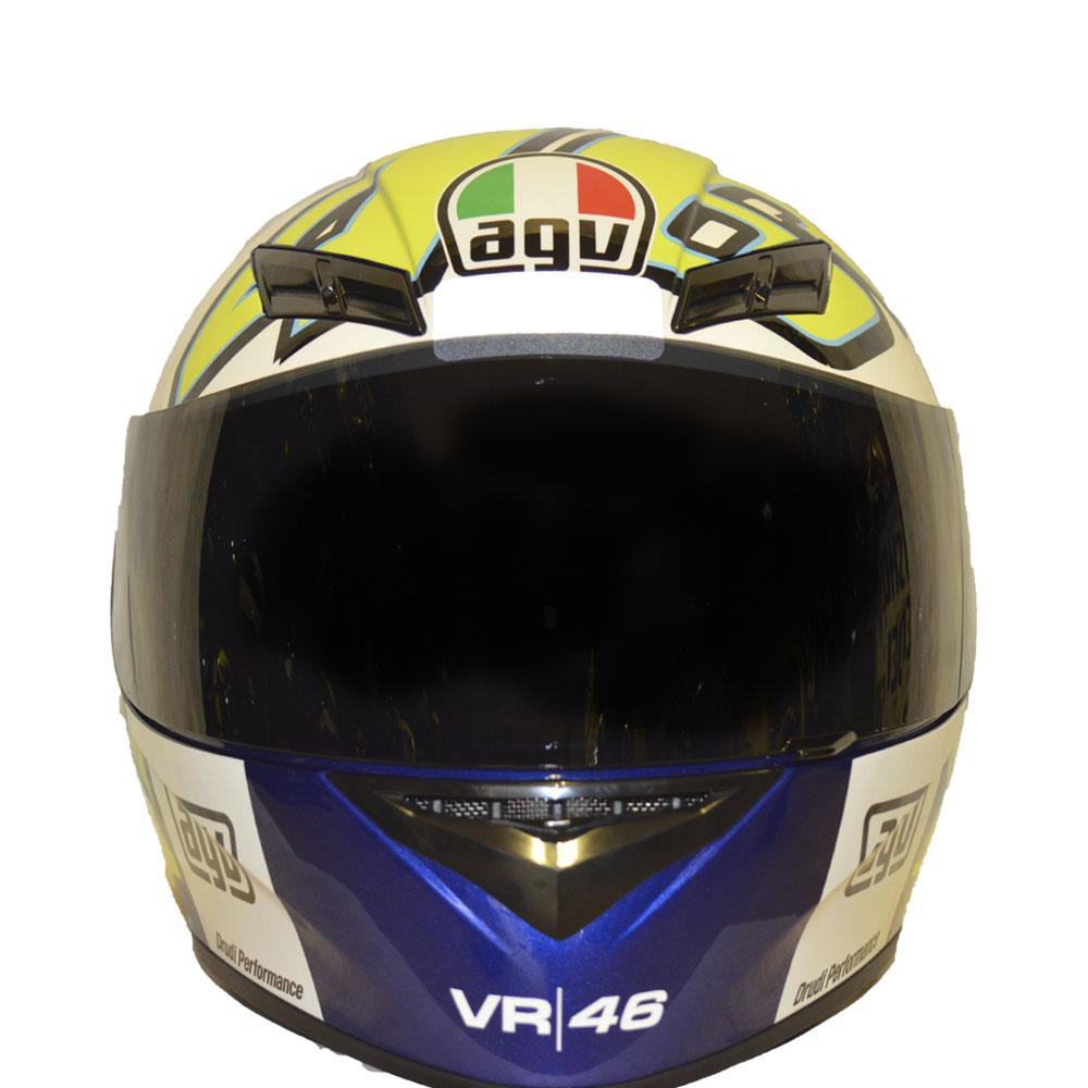 CAPACETE AGV K3 RÉPLICA VALENTINO ROSSI- WINTER TEST 12  - Motosports