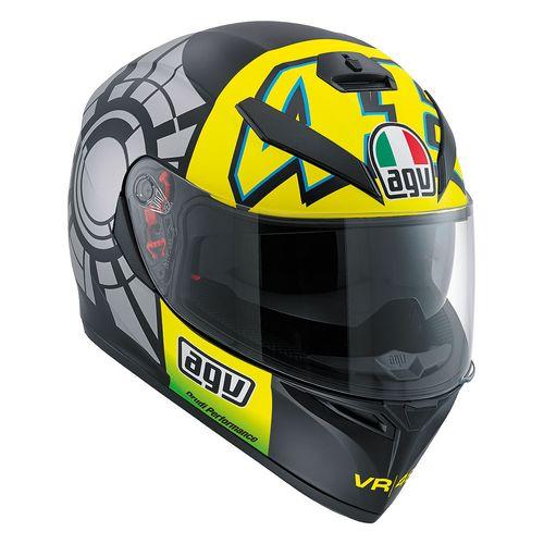CAPACETE AGV K3 SV WINTER TEST COM VISEIRA SOLAR  - Motosports