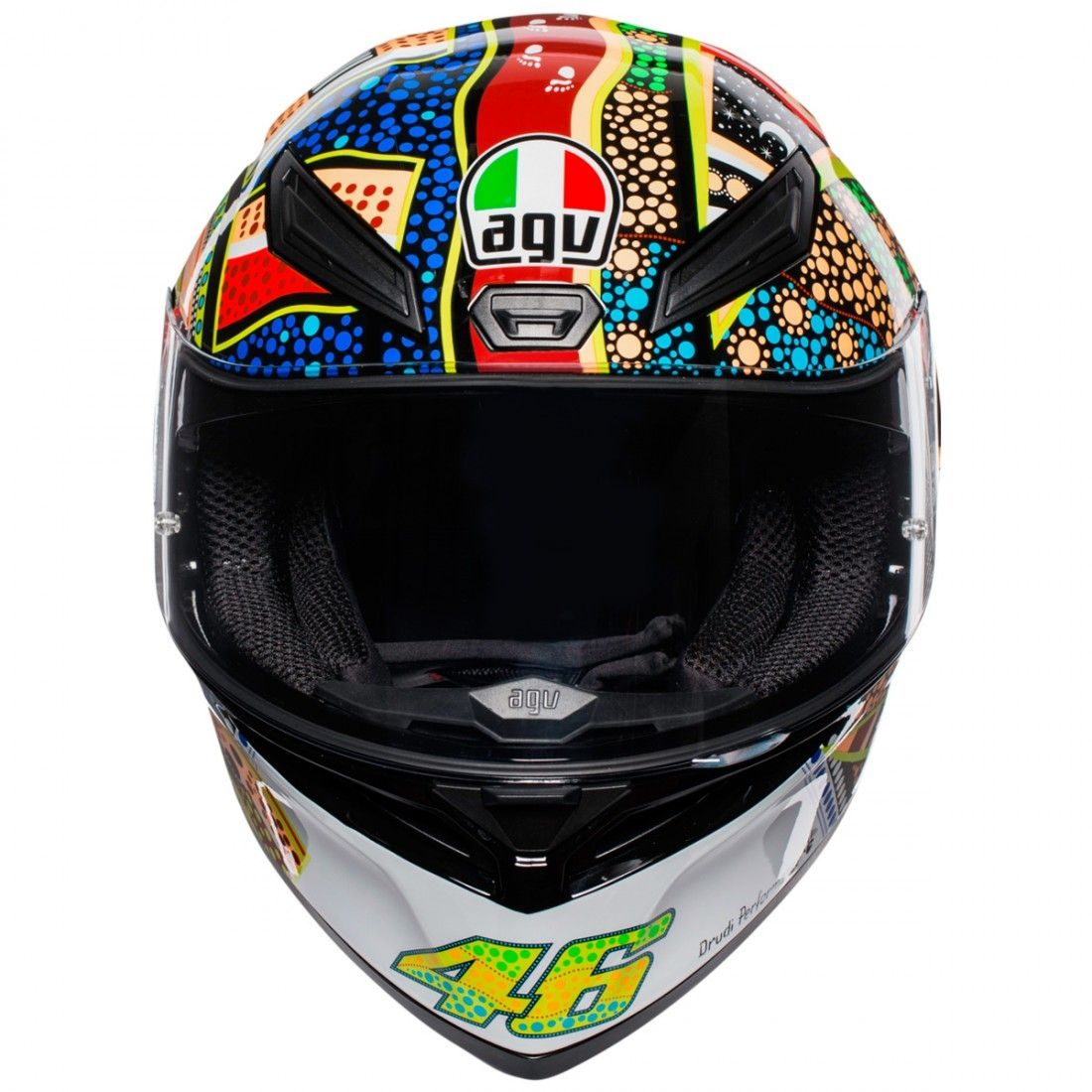 Capacete AGV K-1 DREAMTIME Valentino Rossi (k1)  - Motosports