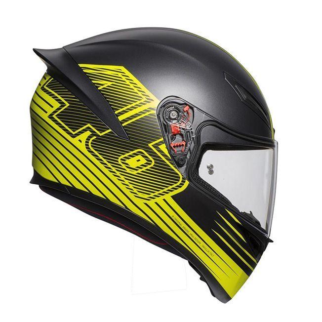 Capacete AGV K-1 Edge 46 Valentino Rossi (k1)  - Motosports