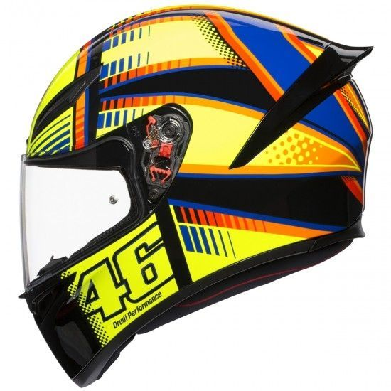 Capacete AGV K-1 Soleluna Valentino Rossi (k1)  - Motosports
