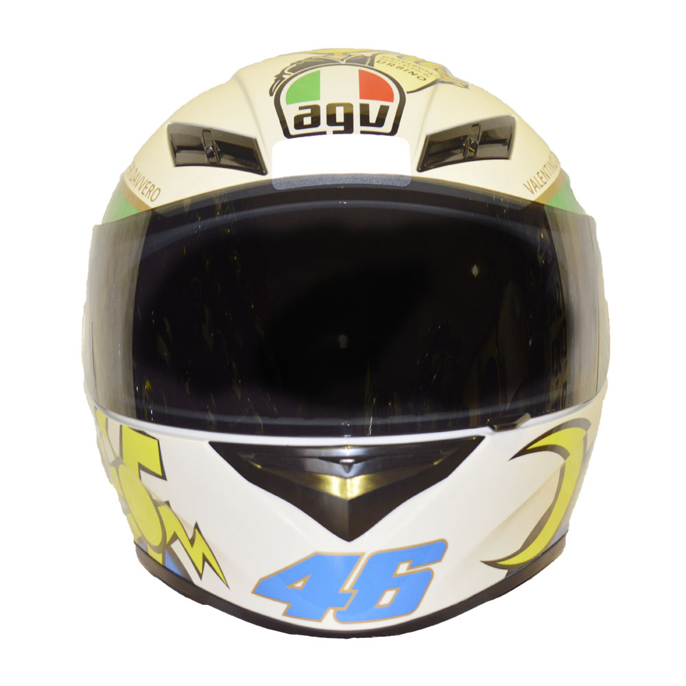 CAPACETE AGV K3 RÉPLICA VALENTINO ROSSI - LAUREATO  - Motosports