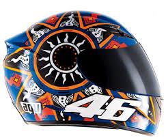 CAPACETE AGV K3 RÉPLICA VALENTINO ROSSI - MOTOGP  - Motosports