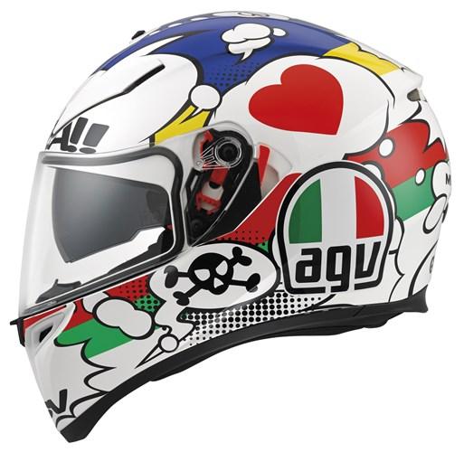CAPACETE AGV K3 SV COMIC - COM VISEIRA INTERNA  - Motosports