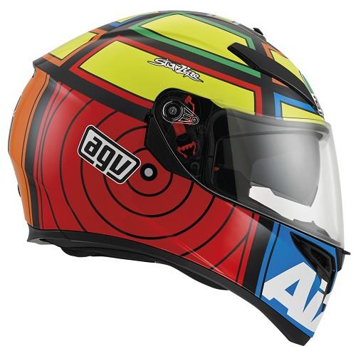CAPACETE AGV K3 SV IANNONE - COM VISEIRA INTERNA (FRETE GRATIS)  - Motosports