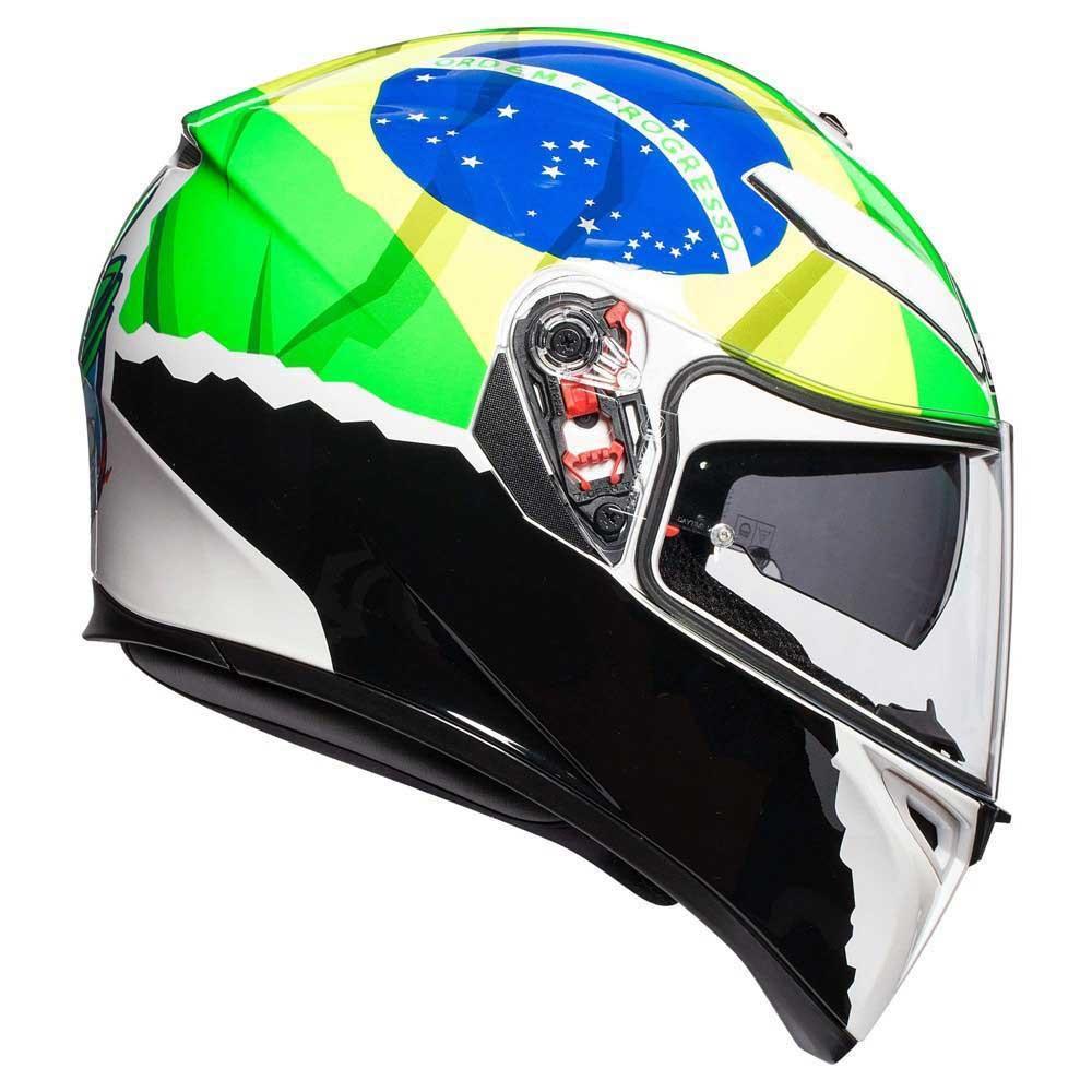 Capacete AGV K-3 SV Morbidelli 17 C/ Viseira Interna Solar   - Motosports