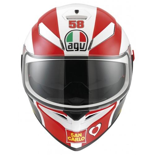 CAPACETE AGV K3 SV SIMONCELLI - COM VISEIRA INTERNA  - Motosports