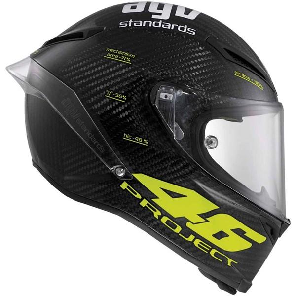 Capacete AGV Pista GP Project 46 Fibra Carbono  - Motosports