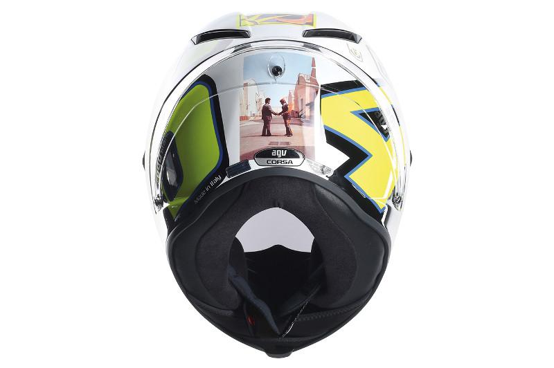 CAPACETE AGV PISTA PINK FLOYD  - Motosports