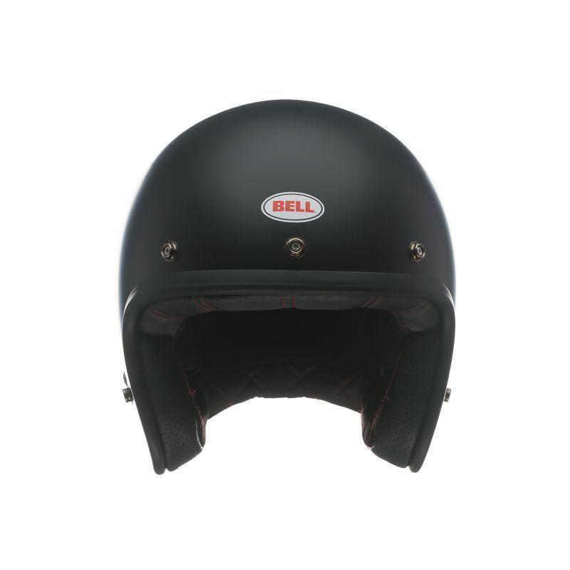 CAPACETE BELL CUSTOM 500 SOLID MATTE BLACK  - Motosports
