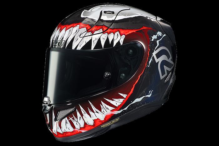 CAPACETE HJC RPHA11 VENOM II MARVEL  - Motosports