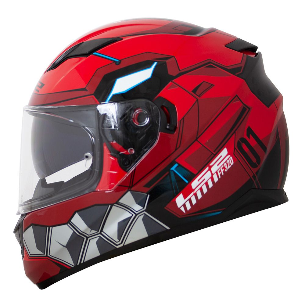 CAPACETE LS2 FF320 ANGEL RED   - Motosports