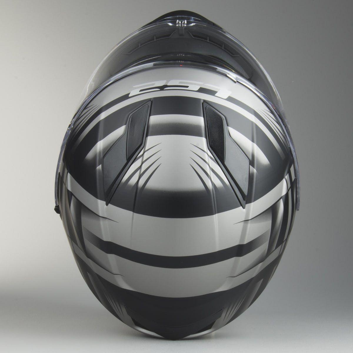 CAPACETE LS2 FF320 STREAM BANG MATTE BLK /TITANIUM  - Motosports