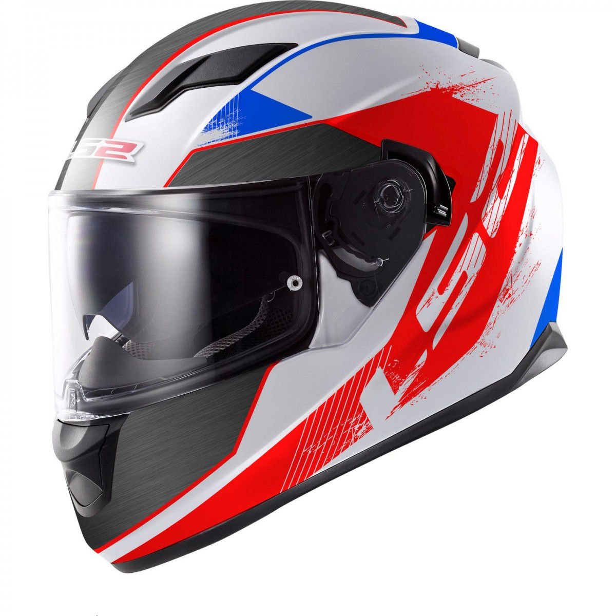CAPACETE LS2 FF320 STREAM STINGERS RED/BLUE  - Motosports