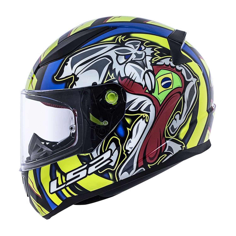 Capacete LS2 FF353 Grafismo Oficial Alex Barros  - Motosports