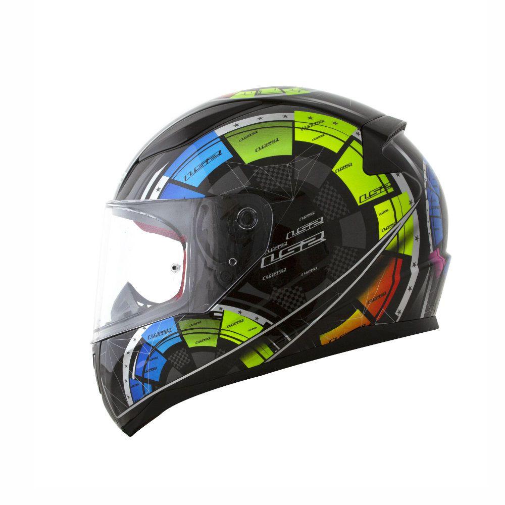 CAPACETE LS2 RAPID FF353 TECH PRETO  - Motosports