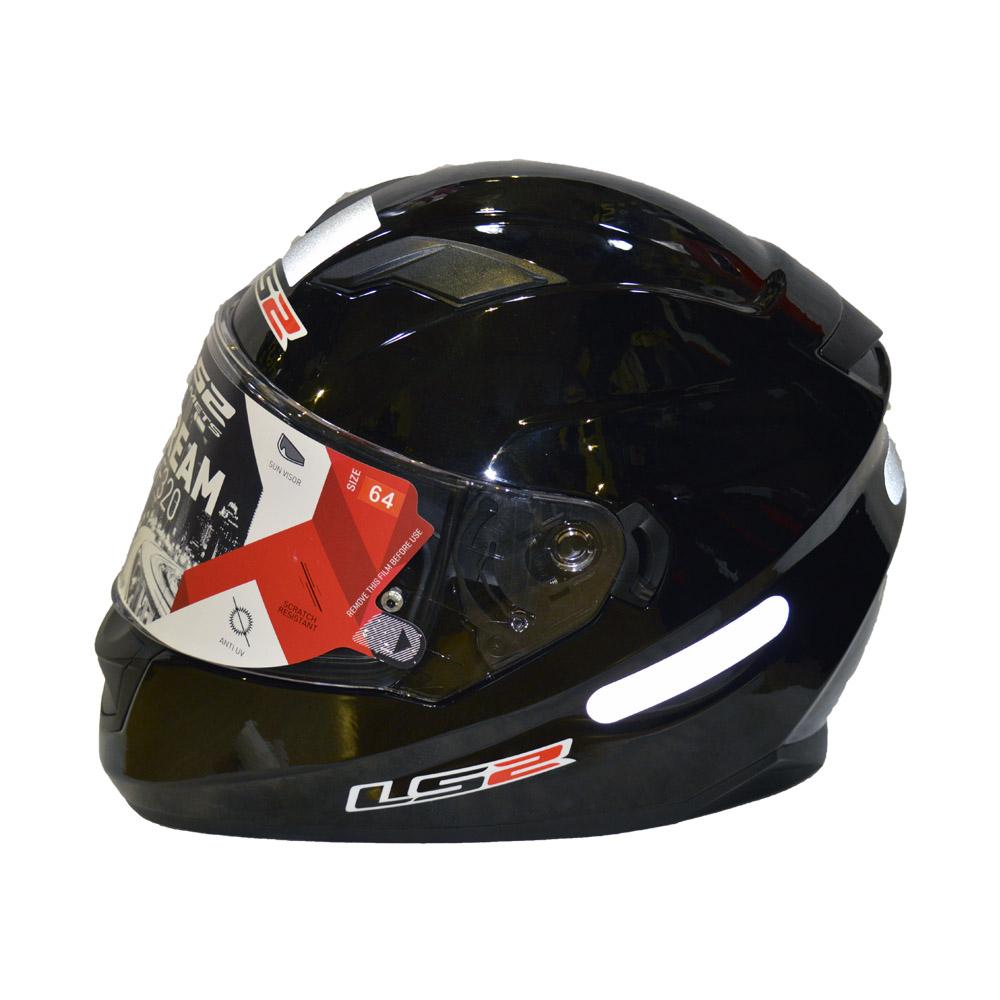 CAPACETE LS2 VECTOR PRETO  - Motosports