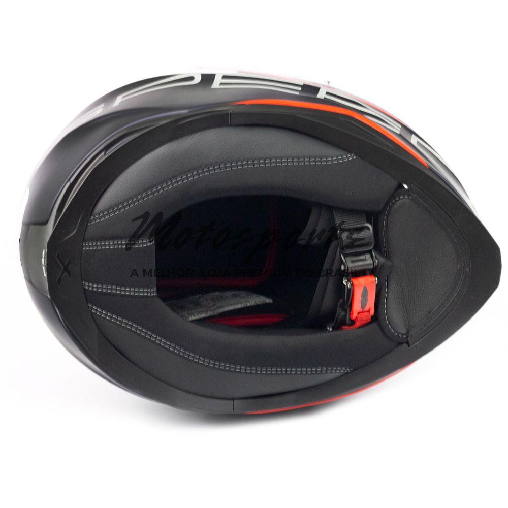 Capacete Nexx SX100 Super Speed Azul C/ Viseira Solar   - Motosports