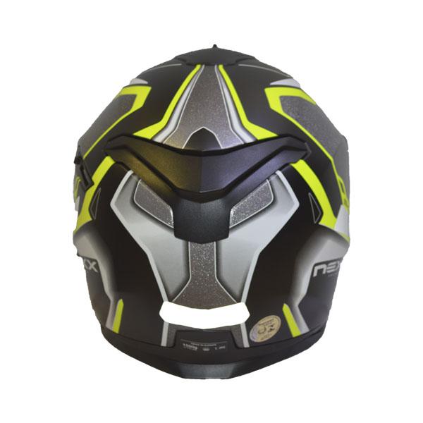 CAPACETE NEXX SX.100 BLAST - NEON AMARELO (FOSCO) (SX100) (LANÇAMENTO)  - Motosports