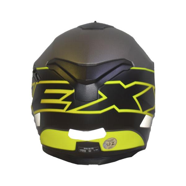 CAPACETE NEXX SX.100 ORION - NEON AMARELO/PRETO (FOSCO) (SX100) (LANÇAMENTO)  - Motosports