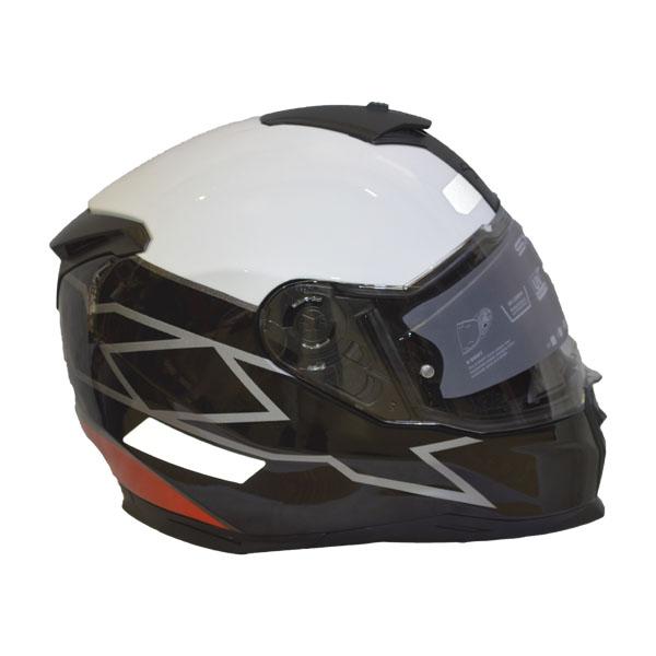 CAPACETE NEXX SX.100 ORION - PRETO/BRANCO/VERMELHO (SX100) (LANÇAMENTO)  - Motosports