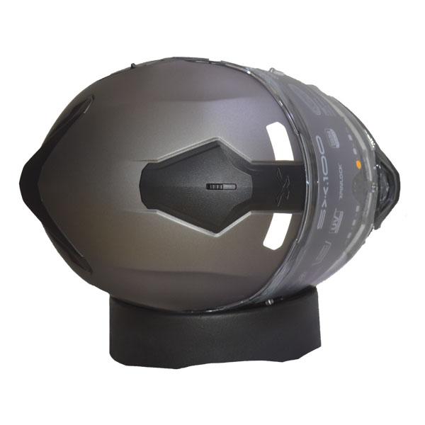CAPACETE NEXX SX.100 PLAIN TITANIUM - CINZA FOSCO   - Motosports