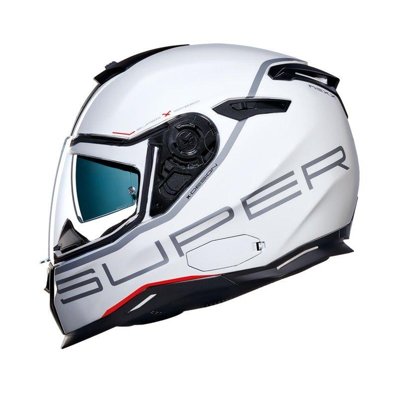 CAPACETE NEXX SX.100 SUPER SPEED WHITE  - Motosports