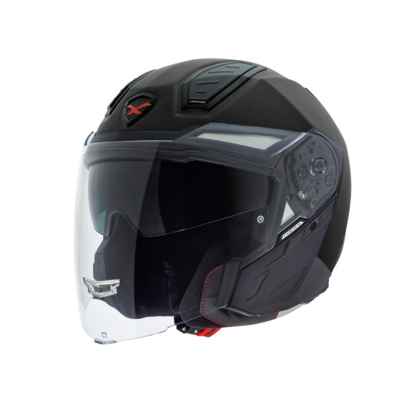 CAPACETE NEXX X40 JET CARBON PRETO  - Motosports