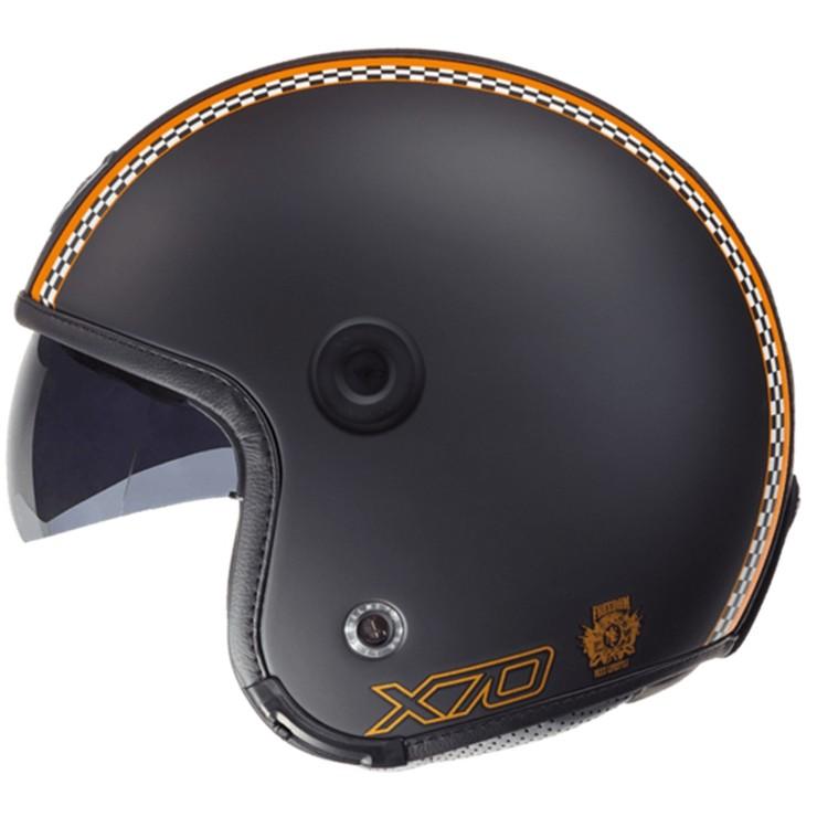 CAPACETE NEXX X70 FREEDOM - PRETO FOSCO  - Motosports