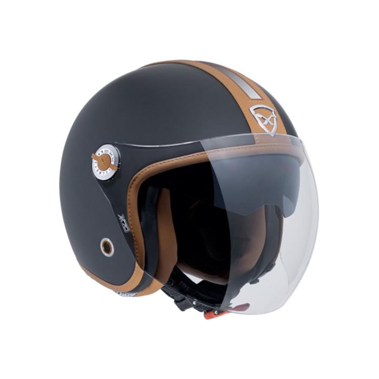 Capacete Nexx X70 groovy Preto Camel Fosco Aberto c/ Viseira Solar  - Motosports