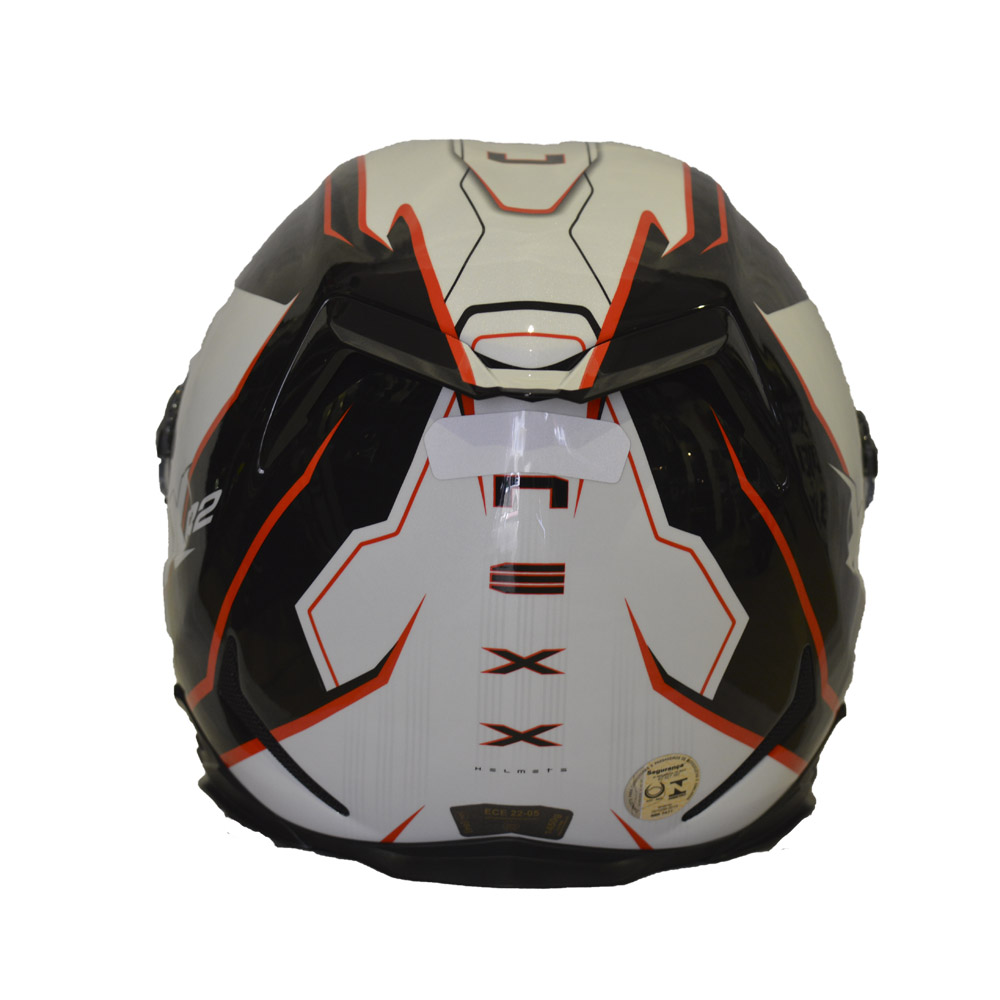 CAPACETE NEXX XR2 VORTEX BRANCO  - Motosports