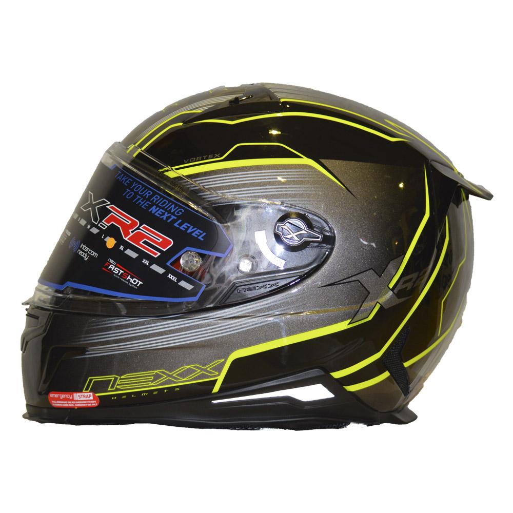 Capacete Nexx XR2 VORTEX CINZA  - Motosports