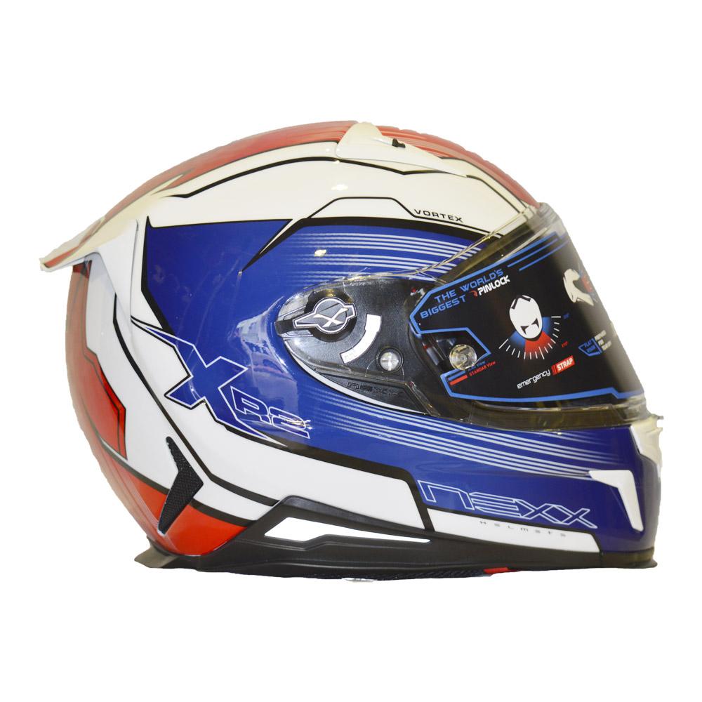 CAPACETE NEXX XR2 VORTEX TRICOLOR  - Motosports