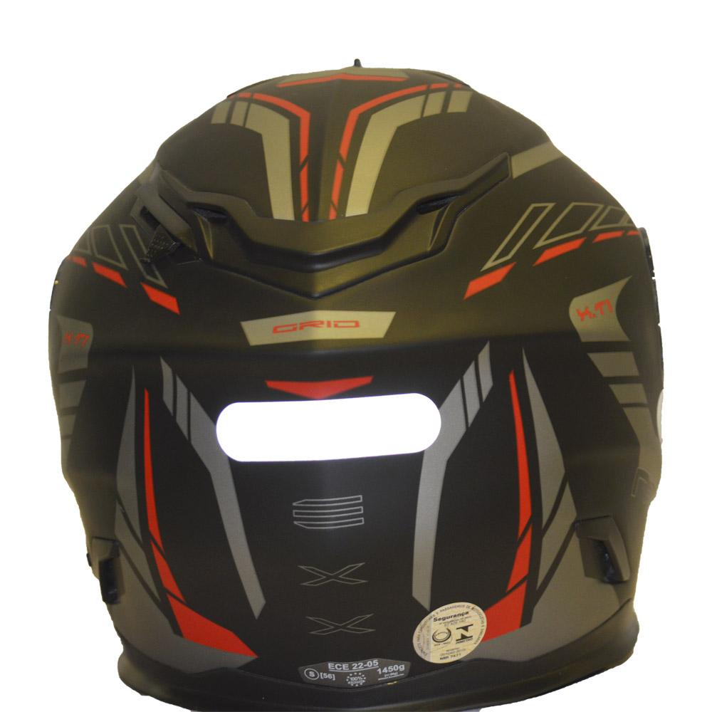 Capacete Nexx XT1 GRID Vermelho Lançamento!!  - Motosports