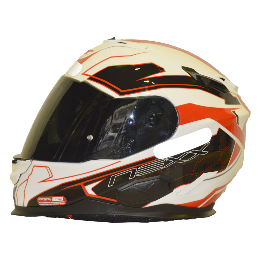 Capacete Nexx XT1 Lotus Vermelho   - Motosports