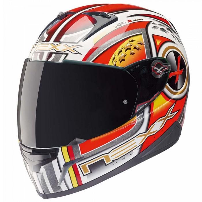 CAPACETE NEXX XR1.R ALPHA RED  - Motosports