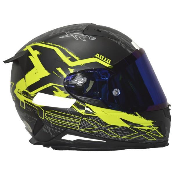 CAPACETE NEXX XR2 ACID NEON AMARELO - TRI-COMPOSTO-   - Motosports