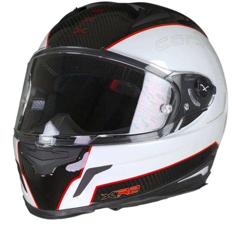 CAPACETE NEXX XR2 CARBON BRANCO  - Motosports