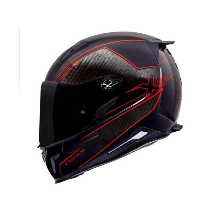 Capacete NEXX X.R2 Carbon Pure Red  - Motosports