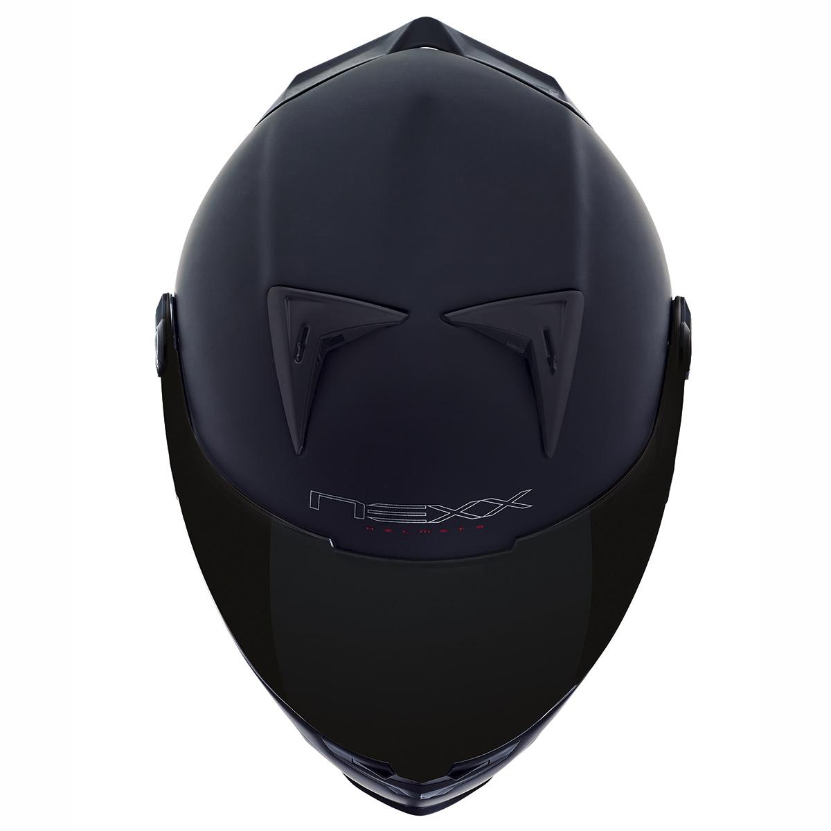 CAPACETE NEXX XR2 PLAIN PRETO  - Motosports