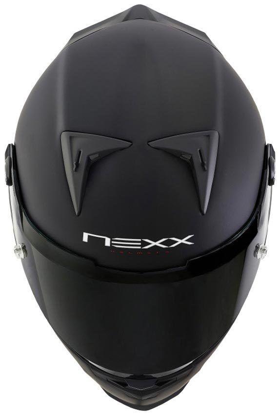 Capacete Nexx XR2 Plain Preto Fosco  - Motosports