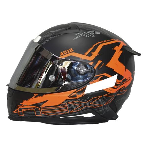 CAPACETE NEXX XR2 ACID NEON LARANJA - TRI-COMPOSTO -  - Motosports