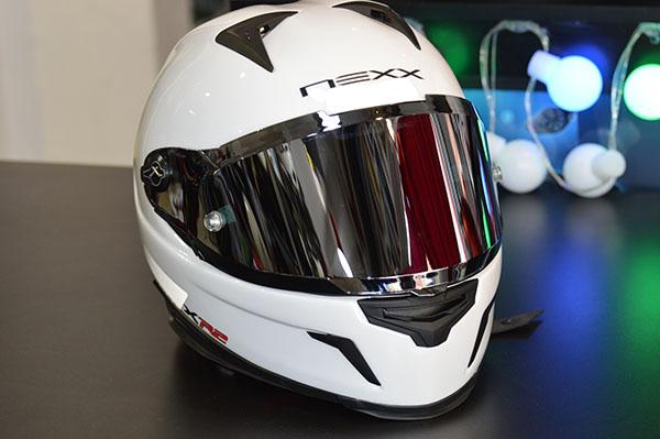 CAPACETE NEXX XR-2 PLAIN LISO BRANCO - GANHE UMA VISEIRA FUMÊ  - Motosports