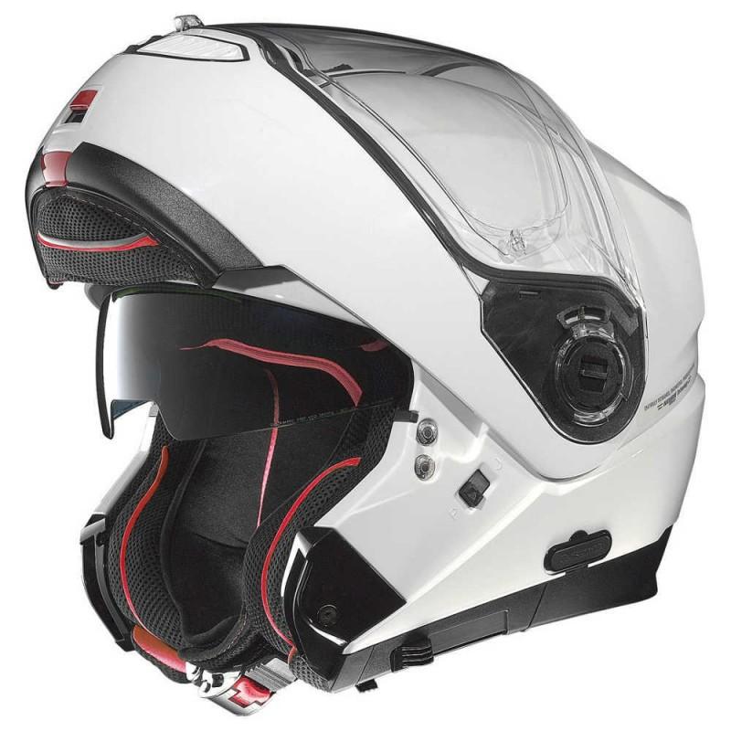 CAPACETE NOLAN N104 ABSOLUTE CLASSIC - BRANCO - C/ VISEIRA INTERNA (COMPRE E GANHE UMA BALACLAVA)  - Motosports