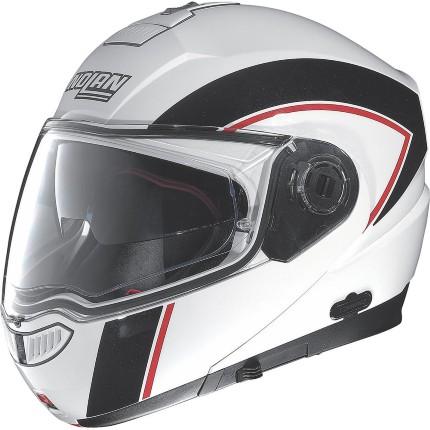 CAPACETE NOLAN N104 EVO SCOVERY N-COM BRANCO E PRETO (COMPRE E GANHE UMA BALACLAVA)  - Motosports