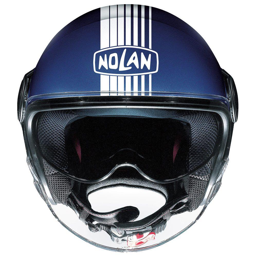 Capacete Nolan N21 Joie De Vivre Flat Imperator Blue/53 - C/ Viseira Solar Interna  - Motosports